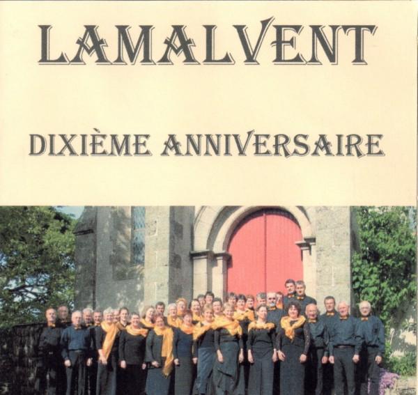 Cd de la Chorale Lamalvent Dixième anniversaire