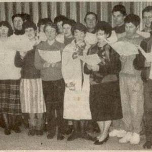 création de la chorale 1988
